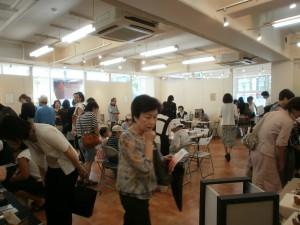 2010.8.池袋オレンジギャラリーの作品展にて