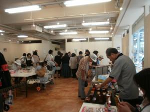 2010.8池袋にて共同作品展