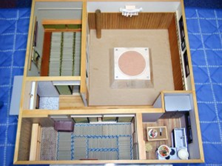 ドールハウス 相撲部屋 完成 2006年